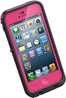 LifeProof FRĒ iPhone 5 Waterproof Case - Retail Packaging - MAGENTA/BLACK