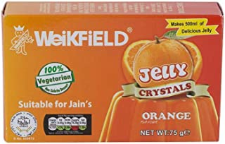 Weikfield Orange Jelly Crystals - 75g - (pack of 2)