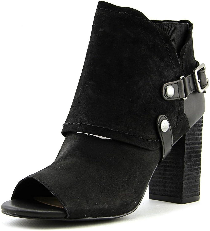 Fergie Fergie Fergie kvinnor Roland läder Buckle Ankle stövlar  försäljning online