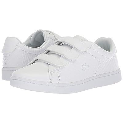 Lacoste Carnaby Evo Strap 418 1 (White/White) Women