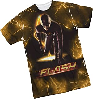 Bolt - CW's The Flash TV Show Front Print Sports Fabric Youth T-Shirt