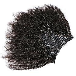 KeLang Hair African American Afro Kinky Curly Clip