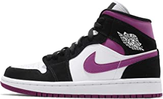 NIKE AIR JORDAN 1 MID Women's shoe Black/cactus flower/white BQ6472-005