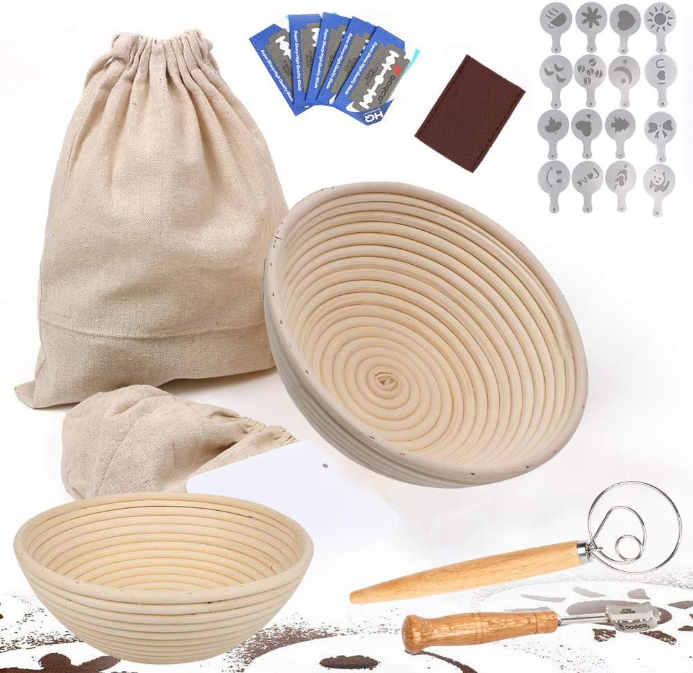 Import Round Bread Proofing Ranking TOP1 Basket Baking Brea Set Includes