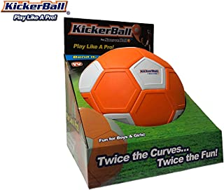 Kickerball - Curve and Swerve Soccer Ball/Football Toy - Kick Like The Pros, Great Gift for Boys and Girls - Perfect for O...