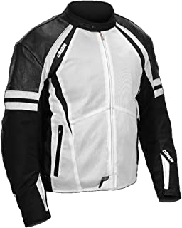 Castle Contact Motorcycle Jacket - White - LG