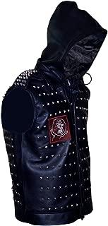 Watch Dogs WD 2 Dedsec Wrench Shawn Baichoo Black Leather Vest
