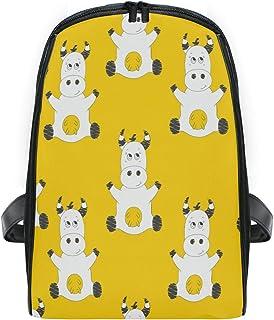 ZZXXB Mochila de Vaca para niños pequeños preescolares, Impermeable, Mochila de Viaje para niños