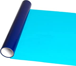 InvisiShield Hardwood Floor Protector Film - 24 inch x 200 Foot Adhesive Plastic Floor Protection Film