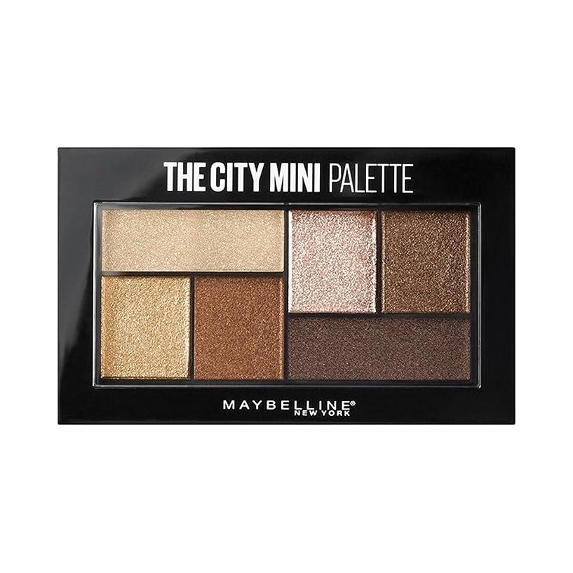 ブルゴーニュバッテリー有用(3 Pack) MAYBELLINE The City Mini Palette - Rooftop Bronzes (並行輸入品)