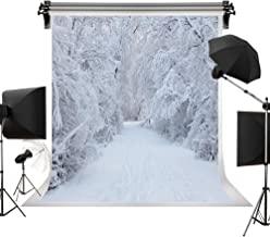 Kate 10x20ft/3m(W) x6m(H) White Snow Backdrop Holiday Photography White Frozen Tree Winter Background Children Photo Backdrops Christmas Backdrops