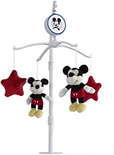 Best Disney Mickey Mouse Best Friends Musical Mobile, Red/Yellow/Black/White Review