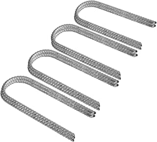 Pinnacle Mercantile Trampoline Wind Stakes Anchors Extra Heavy Duty Galvanized 12 Inch
