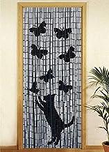Wenko 819111500 bamboe gordijn zonsondergang, bamboe, meerkleurig, 200 (Hoogte) x 90 (Breedte) x 0,2 cm