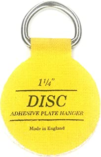 Flatirons Disc Adhesive Plate Hangers, 1.25 Inch, 6 Pack
