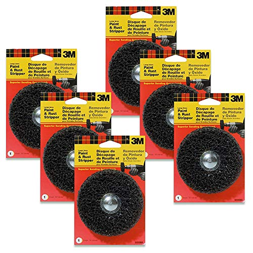3M 9099DCNA Large Area Paint and Rust Stripper - 6 Pack