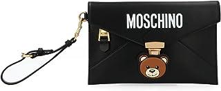 Moschino Women's A8411180061555 Black Leather Clutch