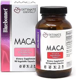 Bluebonnet Nutrition Intimate Essentials Maca Capsules, Soy-Free, Gluten-Free, Non-GMO, Dairy-Free, Kosher Certified, Vega...