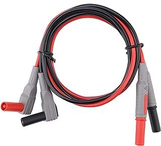 Cordon de test, cordons de test de multimètre numérique électronique P1300D avec clips Cro-codile ensemble de pointes de s...