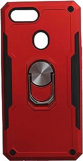 جراب خلفي قوي آيرون مان بحلقة معدنية ومسند لريلمي C1 - احمر اسود