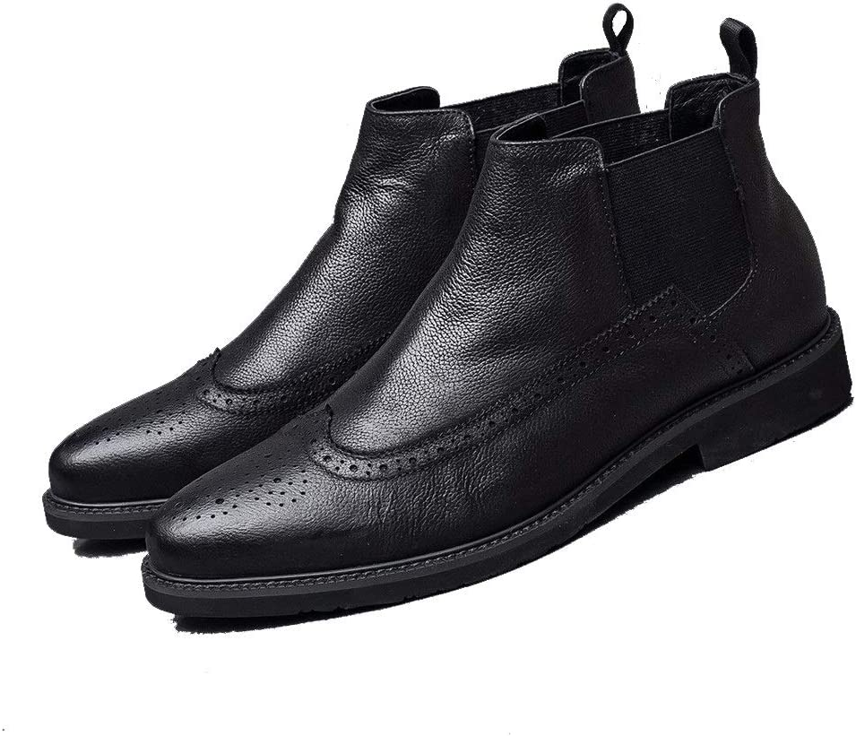 Rui Landed Brogue Ankle San Discount is also underway Jose Mall Boot for Men Toe Round Work Chelsea