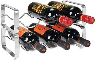 Sorbus Fridge Wine Rack Refrigerator Bottle Rack Holds 3 Bottles of Your Favorite Wine or Drink Universal Bottle Holder Will Fit Most Fridges