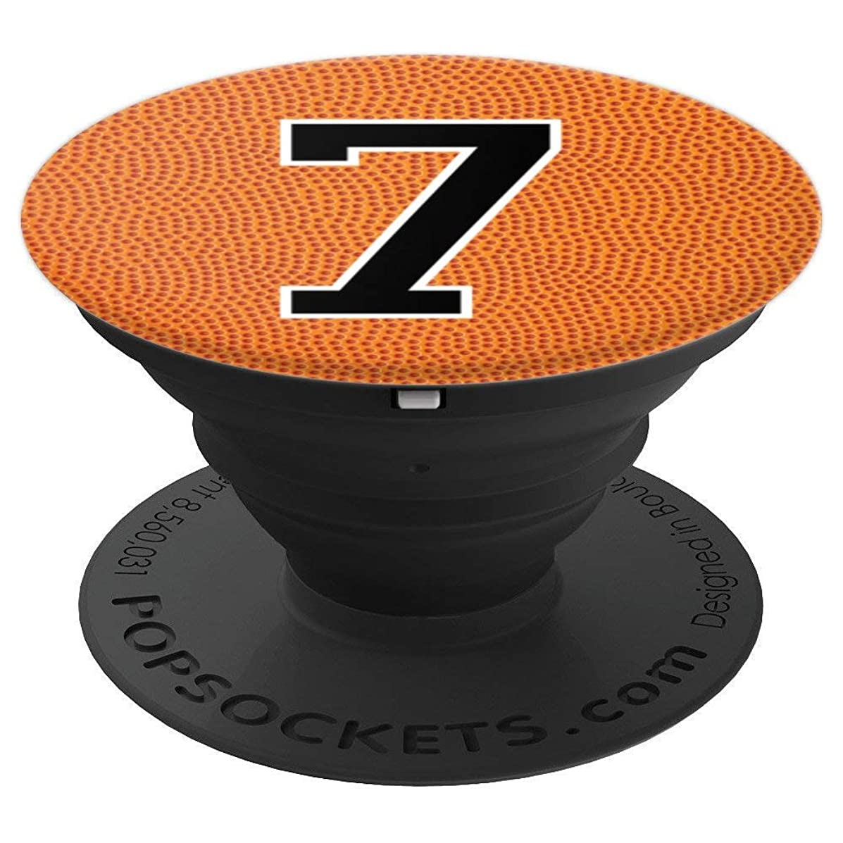 Basketball Number 7 Jersey Uniform Gift For Men Women - PopSockets Grip and Stand for Phones and Tablets