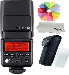 【正規品 技適マーク付き日本語説明書付】Godox Thinklite TTL TT350C ミニカメラフラッシュ高速1 / 8000s GN36 DSLR Canon Cameras,5D Mark III 80D 7D 760D 60D 600D 30D 100D 1100D Cameras シリーズ