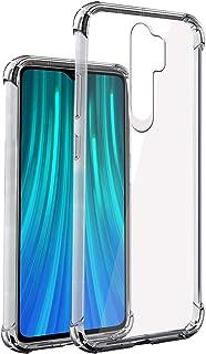E-COSMOS Back Case for Xiaomi Redmi Note 8 Pro (Silicone_Clear)