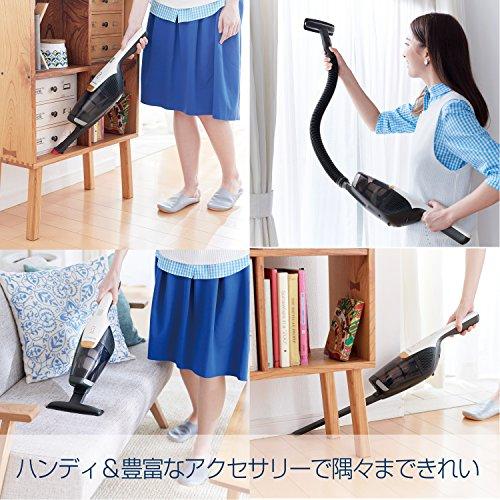 通常のカーペット掃除での使い方だけでなく、隙間の掃除、布団掃除という3タイプ(3-in-1仕様)で活躍します。