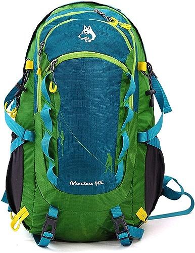 MPNP Sac d'alpinisme Extérieur, Sac à Dos De Grande Capacité 40L, Champ, Camping, Randonnée, équipement De Sport,A