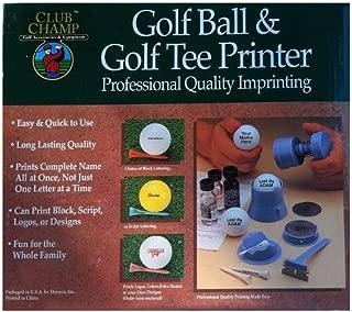 Best club champ golf ball and tee printer Reviews