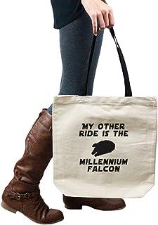 My Other Ride Is The Millennium Falcon Star Wars Inspired 手提包单肩包钱包