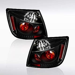 Autozensation For Scion TC Black Altezza Tail Lights Rear Brake Lamps Pair