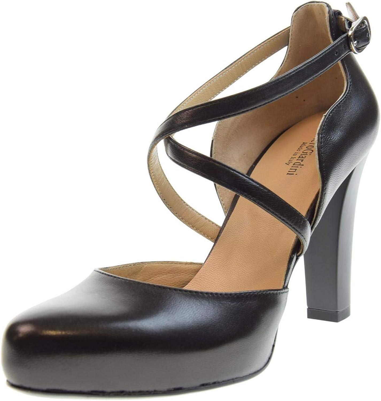 black Giardini Women's shoes decollet Popped P907851DE   100 Size 37 Black