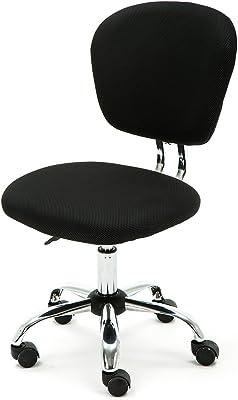 Anladia Office Essentials - Silla de Escritorio con Respaldo de Malla giratoria, Altura Ajustable,