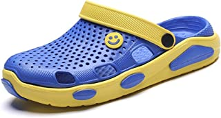 Summer Sandals Men Outdoor Beach Sandals Soft And Comfortable (Color : Yellow, Size : 43)