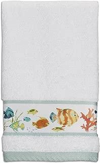 Creative Bath Products Rainbow Fish Fingertip Towel