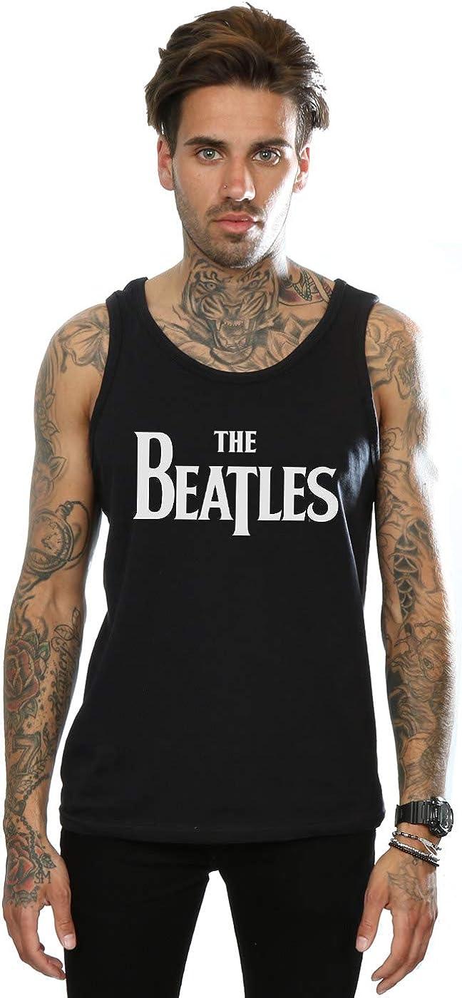 The Beatles Hombre Drop T Logo Camiseta Sin Mangas: Amazon.es ...