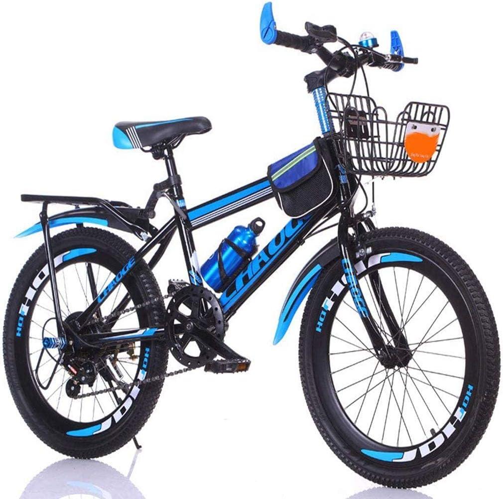 weiwei Kinder Gang-schaltung Mountainbike,Tragbares Sto/ßd/ämpfung Roller Zu Fu/ß,Radfahren Im Freien M/ännliche Und Weibliche Studenten Stadtstra/ßen Fahrrad