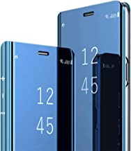 Zater Case Compatible with Galaxy Note 8,Mirror Clear View 360 Full Protection Kickstand Note 8 Case