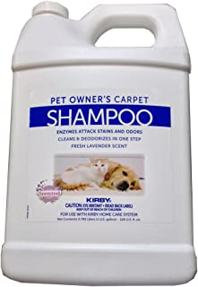 1 Gallon Genuine Kirby Pet Owners Shampoo. Use with all model Kirby Vacuum Cleaner Shampooer Systems.