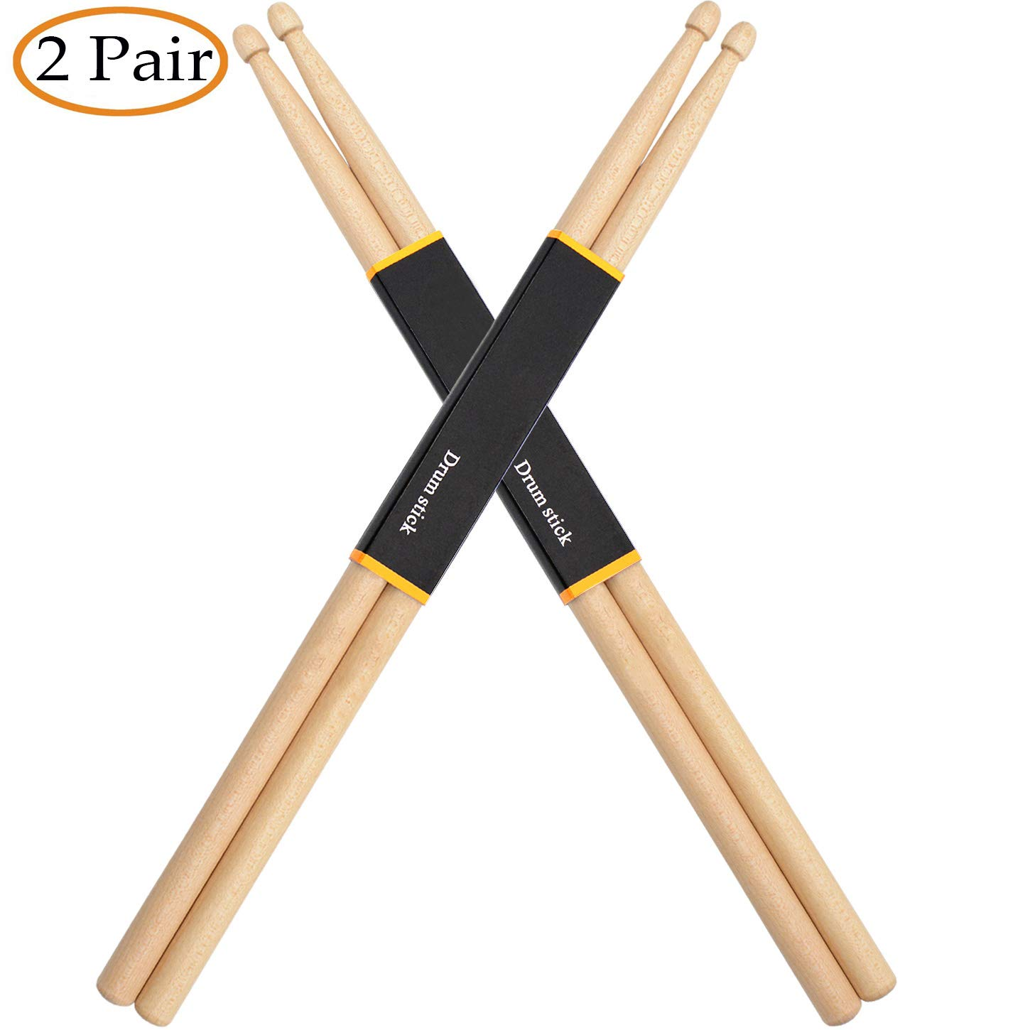 WOGOD Drum Sticks Maple Drumsticks