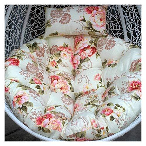 DYYD - Cojín para silla de huevo, moderno, colgante con hamaca, cojín para colgar y colgar, extraíble y lavable, sin formaldehído, suave y cómodo