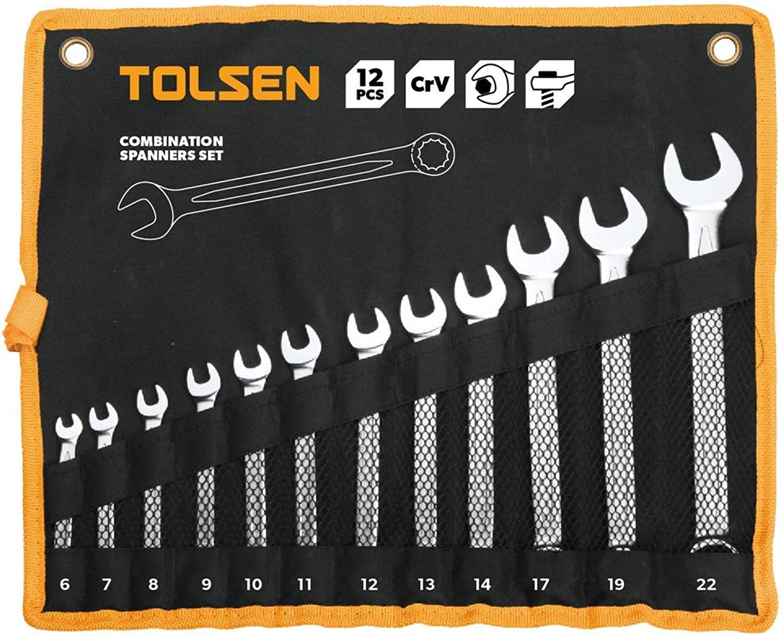 Cablematic – Anzeige von 12 Schlüssel bis bis bis Mund offen und Ring Werkzeugaufnahme tolsen B00Y95JXH8 | Vollständige Spezifikation  717cb0