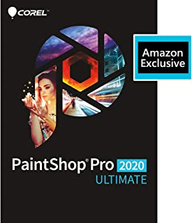 Corel | PaintShop Pro 2020 Ultimate | Photo Editing and Graphic Design | Amazon Exclusive Includes Free ParticleShop Plugi...