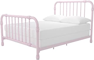 Little Seeds Monarch Hill Wren Metal Bed Full, Pink