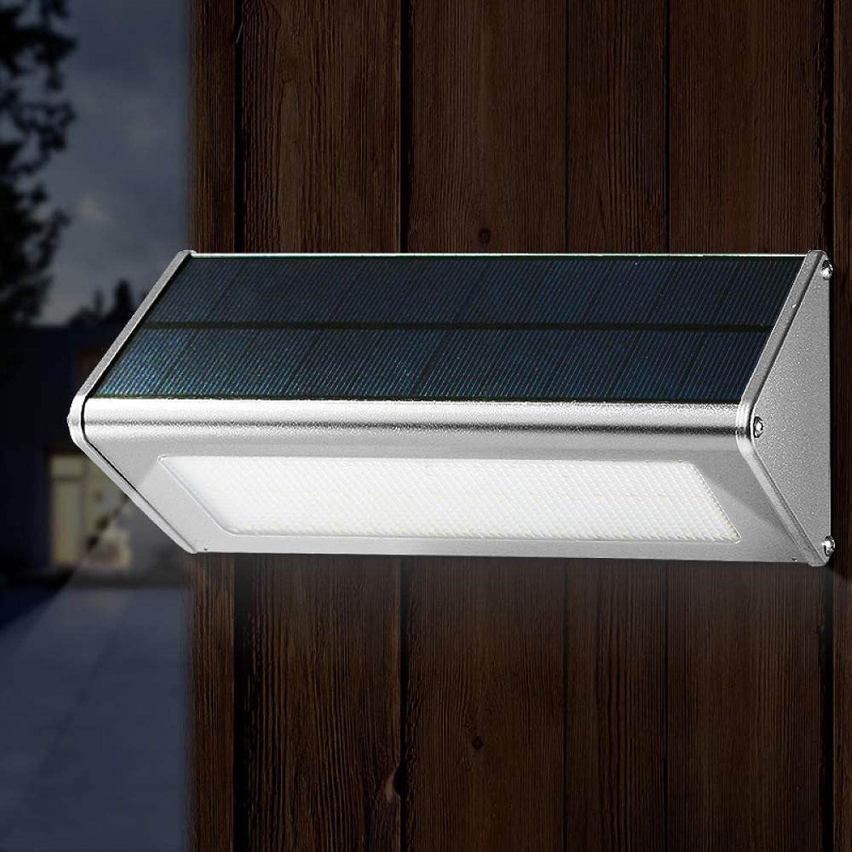 MEIM Solarleuchte Für Auen,150° LED Solarlampen Mit Bewegungsmelder Wasserdichte Beleuchtung Wandleuchte Solarlicht Für Garten Hof Bürgersteig Beleuchtung [Ultra Bright],schwarz-A