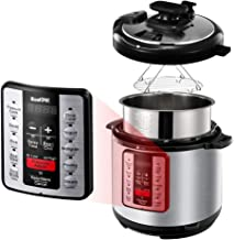 ICOOKPOT Pressure Cooker 6 QT 9-in-1 Multi-Use Programmable Steamer Pot Rice Cooker..