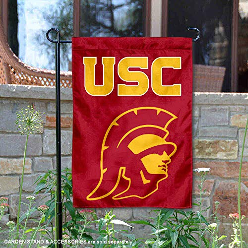 College Flags & Banners Co. Southern Cal USC Trojans Trojan Head Garden Flag